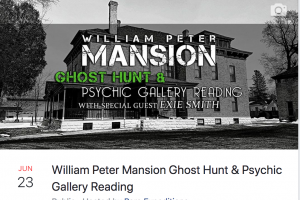 William Peter Mansion Gallery & Investigation